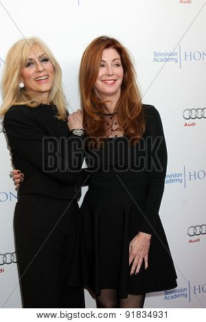 LOS ANGELES - MAY 27:  Judith Light, Dana Delany at the 8th Annual Television Academy Honors - Arrivals at the Montage Hotel on May 27, 2015 in Beverly Hills, CA