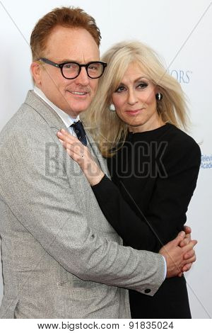 LOS ANGELES - MAY 27:  Bradley Whitford, Judith Light at the 8th Annual Television Academy Honors - Arrivals at the Montage Hotel on May 27, 2015 in Beverly Hills, CA