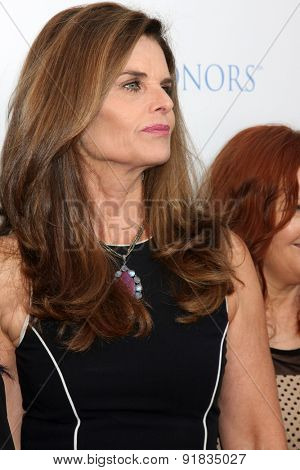 LOS ANGELES - MAY 27:  Maria Shriver at the 8th Annual Television Academy Honors - Arrivals at the Montage Hotel on May 27, 2015 in Beverly Hills, CA