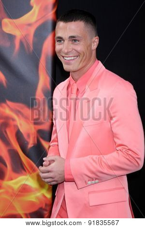 LOS ANGELES - MAY 26:  Colton Haynes at the