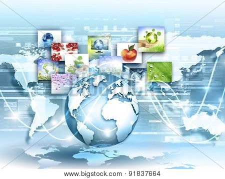 Best Internet Concept of global business from concepts series.