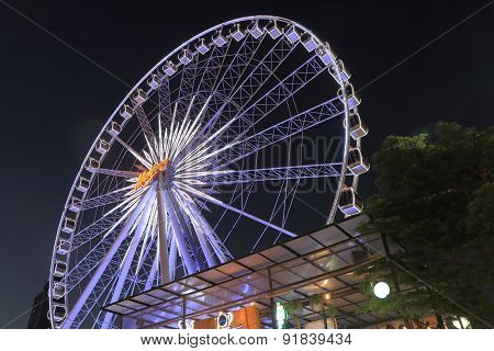 Asiatique Ferris wheel Bangkok