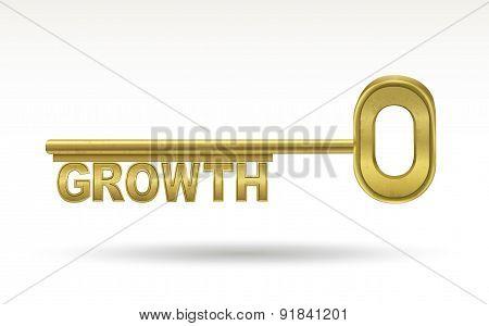 Growth - Golden Key