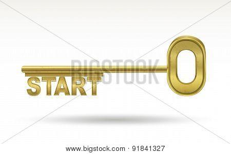 Start - Golden Key