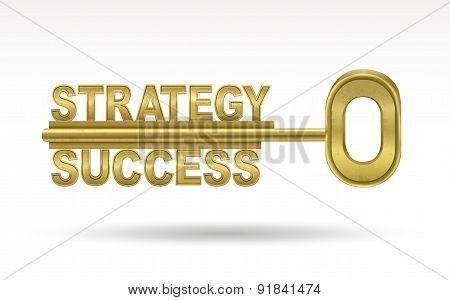 Strategy Success - Golden Key