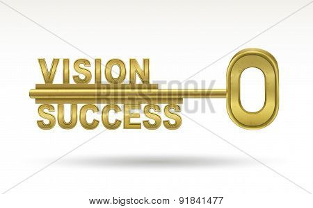 Vision Success - Golden Key