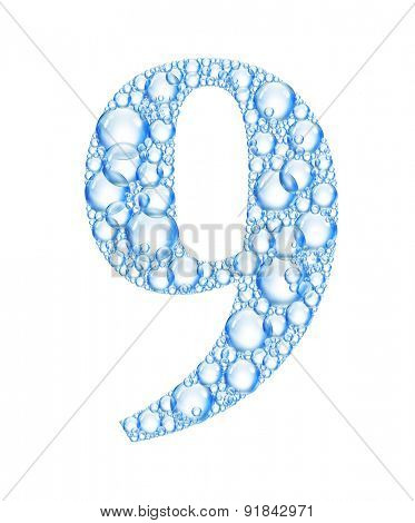 bubble number 9