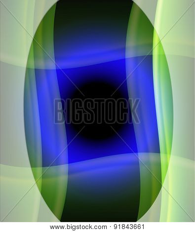 Blue circle light background