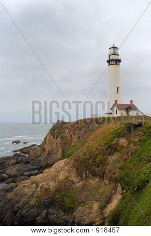 Lighthouse. Highway 1. California
