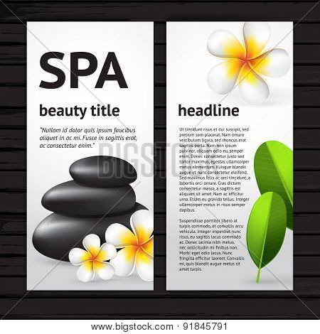 Spa Flyer Design Template