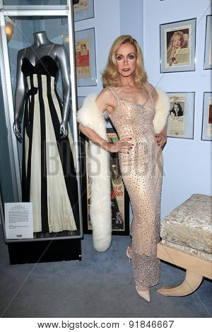 LOS ANGELES - MAY 27:  Donna Mills at the Missing Marilyn Monroe Images Unveiled at the Hollywood Museum on May 27, 2015 in Los Angeles, CA