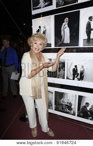 LOS ANGELES - MAY 27:  Ruta Lee at the Missing Marilyn Monroe Images Unveiled at the Hollywood Museum on May 27, 2015 in Los Angeles, CA