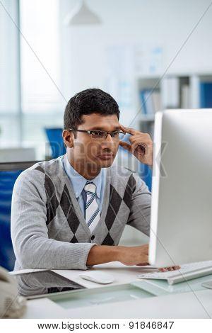 Indian software developer