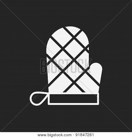 Baking Gloves Icon