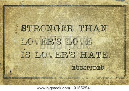 Lovers Hate Eur