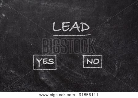 Blackboard - Lead