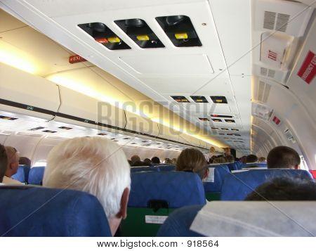 Passagier-Flugzeug-Vorstand
