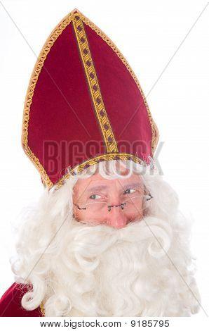 Porträt von Sinterklaas