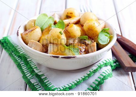New Potatoes Salad