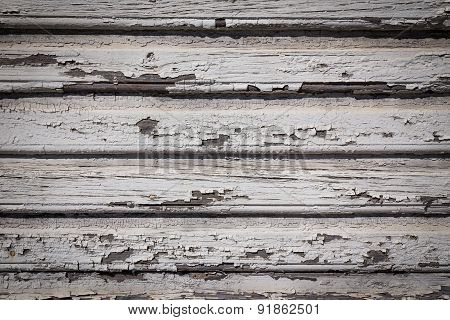 White Background Of Weathered Painted