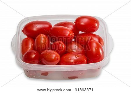 Tomatoes In Tray