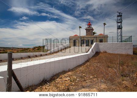 The Ponta De Piedade Lighthouse.lagos.portugal