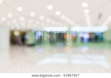 Image of retail Shop Blurred background