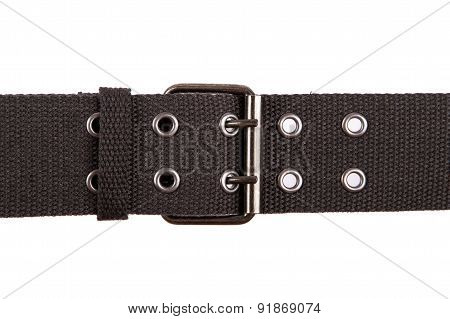 Grey Fabric Belt