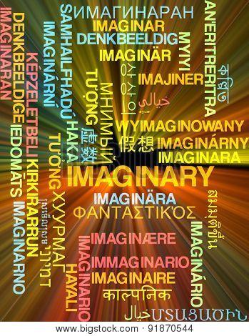 Background concept wordcloud multilanguage international many language illustration of imaginary glowing light