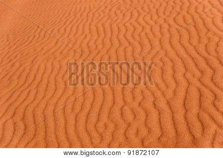 Desert sand background, Namib desert. Namibia, South Africa