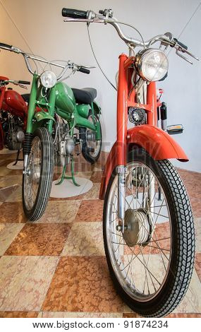 Exhibition Of Vintage Motorcycles