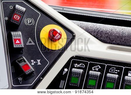 Industrial Vehicle Dashboard