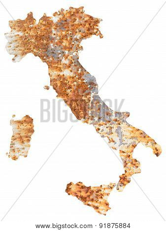 Italy of rust