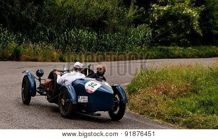 old car BUGATTI T 37 Grand Prix 1927   mille miglia 2015