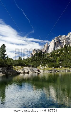Near The Alps Lake