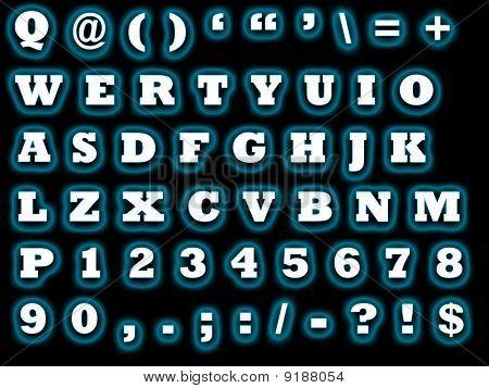 Alphabet Qwerty