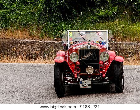 old car O.M.  665 S MM Superba 2000  1927   mille miglia 2015