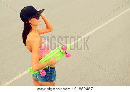 Cool Skater Girl.