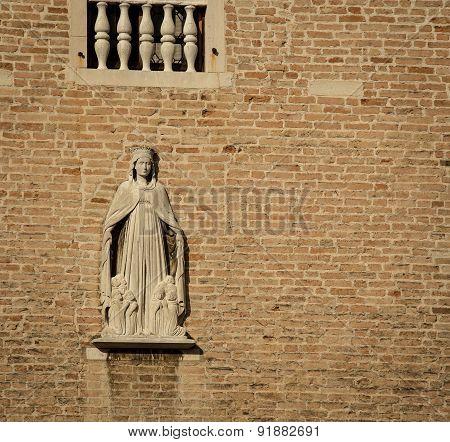 religious female statue