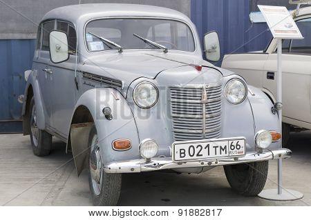 Retro car Moskvich 401 1954 release