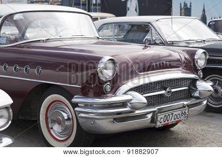 Retro car Buick Century 1955 release