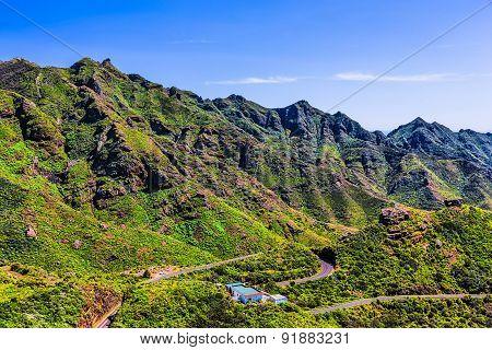Green Mountains Serpantine Road