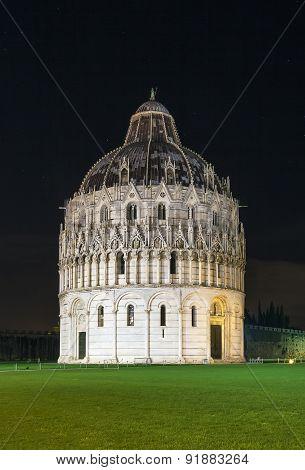Pisa Baptistry, Italy