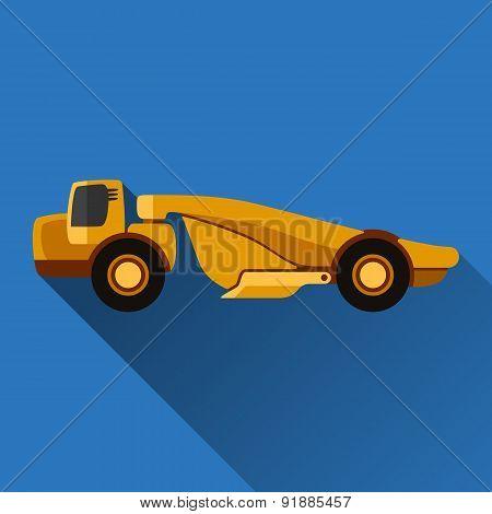 Scraper Flat Icon