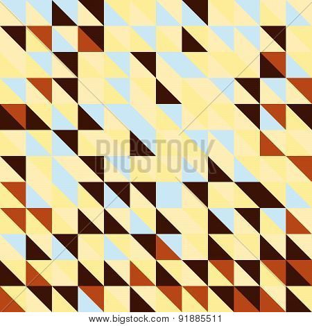 Abstract geometric background from triangle shapes. Colorful pattern. Vector illustration