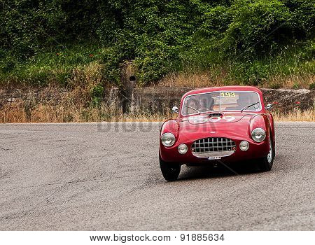 old car ERMINI  1100 berlinetta Motto  1950   mille miglia 2015
