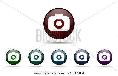 photo camera icon photography sign