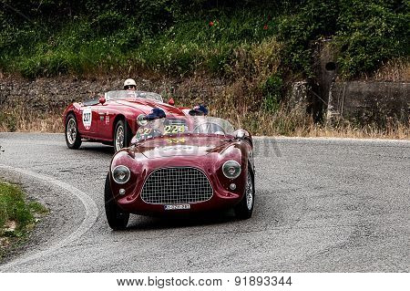 old car FIAT Colli 1100 Sport 1951  mille miglia 2015