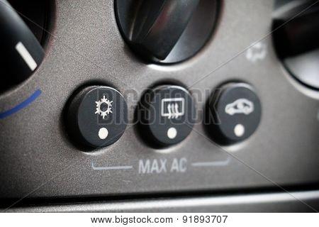 car conditioner control