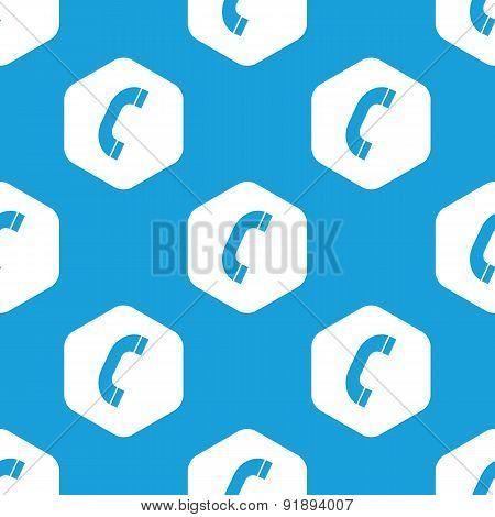 Call hexagon pattern